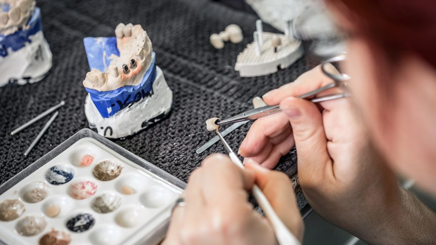 Crowns repair badly damaged teeth